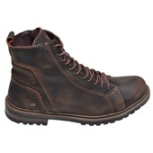 Bota Masculina Brushoff West Coast Marrom
