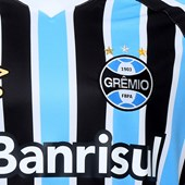 Camiseta Grêmio Of. 1 2018 Umbro Tricolor