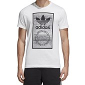 Camiseta Masculina Traction Tongue Adidas Branca