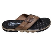 Chinelo Masculino Sandal Extreme West Coast Marrom Claro