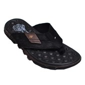 Chinelo Masculino Sandal Extreme West Coast Marrom Preto