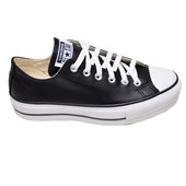 Tênis Feminino Casual Chuck Lift All Star Confort Preto