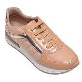 Tênis Feminino Casual Piccadilly Bege