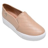 Tênis Feminino Casual Slip On Via Marte Nude