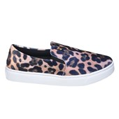 Tênis Feminino Slip On Santa Lolla Animal Print