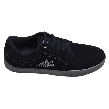 Tênis Masculino Casual Red Nose Preto