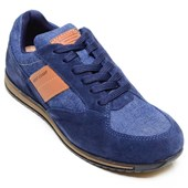 Tênis Masculino Casual West Coast Azul