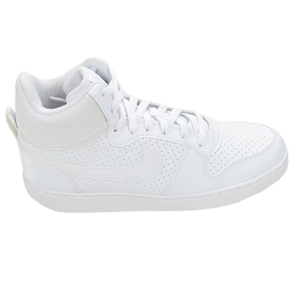 Tênis Masculino Court Borough Mid Nike Branco